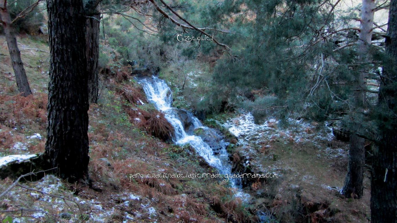 Ruta por las chorreras de San Blas en la zona de la Najarra de Miraflores de la Sierra 03