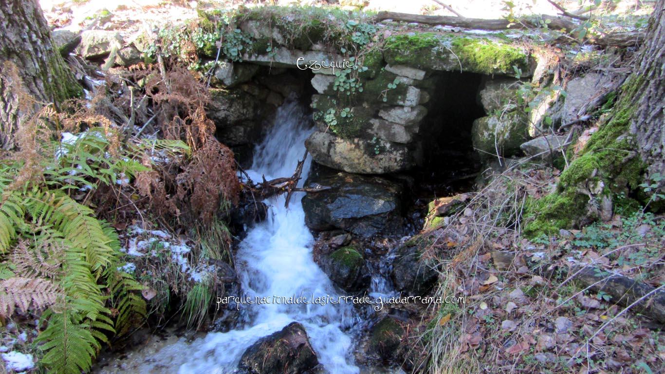 Ruta por las chorreras de San Blas en la zona de la Najarra de Miraflores de la Sierra 23