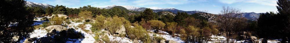 Panorámicas de la Sierra de Guadarrama 11